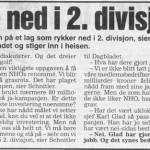 Oppgitt NHO etter nederlaget i 1994. Fra Dagbladet.