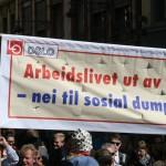 1. mai i Oslo 2014. Foto: Nei til EU