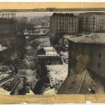 Nedre Foss, sett fra Kongens mølle. Ca 1905. Eier: Oslo byarkiv.