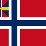 """Unionsflagget, populært kalt """"silde- salaten"""" ble fjerna fra offentlige bygg i 1899, men først fjerna fra norske skip i 1905. Kilde: Wikipedia"""