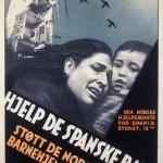 Plakat for den norske Spaniakomiteen Eier: Arbark