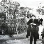 Bilde tatt ved Eventyrbrua ca 1940. Fotograf ukjent.